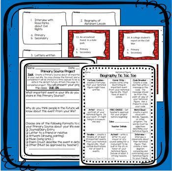 Upper Elementary Biography Unit - 20th Century Americans