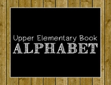 Upper Elementary Book Alphabet Poster Set