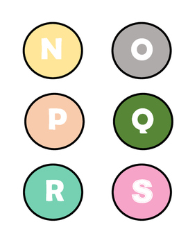 Upper Elementary Book Bin Labels