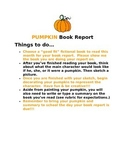 Upper Elementary Book Report Package