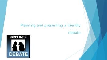 Upper Elementary Debate Project