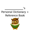 EDITABLE Upper Elementary Dictionary