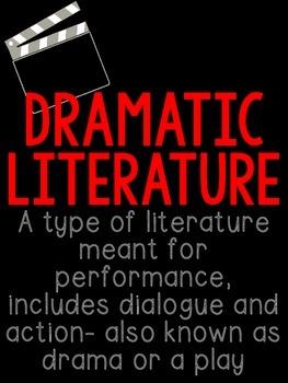 REVAMPED! Upper Elementary Dramatic Literature Bundle