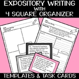 Expository/Informational Writing with 30 Prompts & Four Sq