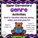 Upper Elementary Genre Activities