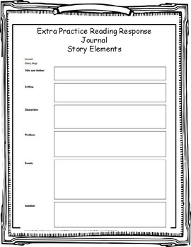 Upper Elementary Guided Reading Response Journal
