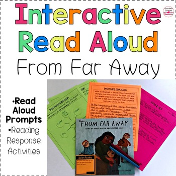 "Upper Elementary Interactive Read Aloud ""From Far Away"" - An immigration story"