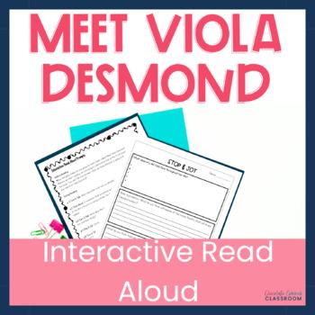 Upper Elementary Interactive Read Aloud Meet Viola Desmond