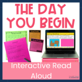 Upper Elementary Interactive Read Aloud The Day You Begin Distance Learning