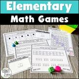 Upper Elementary Math Games Bundle