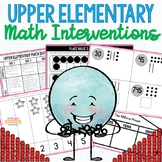 Upper Elementary Math Interventions