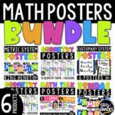 Upper Elementary Math Posters Super Bundle GEOMETRY AND MEASUREMENT