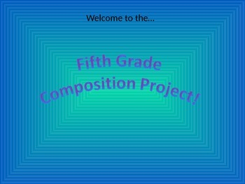 Upper Elementary Music Composition Project