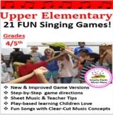Upper Elementary Music Games {21 Music Singing Games}