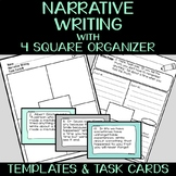 Narrative Writing with 30 Prompts & Four Square Organizer