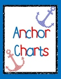 Upper Elementary Reading Anchor Charts