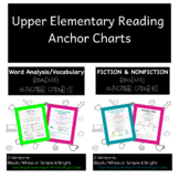 Upper Elementary Reading and Word Analysis Learning Anchor