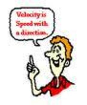 Science - Speed, Velocity, & Acceleration