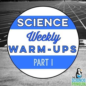 Science Warm-Ups Part 1