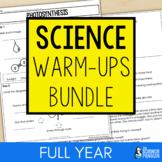 Science Warm-ups