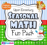 Upper Elementary Seasonal Math Fun Pack