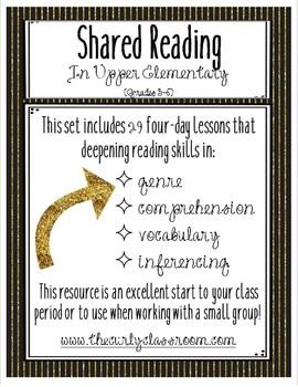 Upper Elementary Shared Reading Set