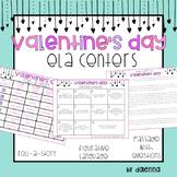 Upper Elementary Valentine's Day ELA Centers