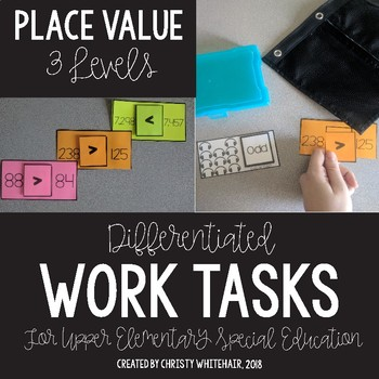 Upper Elementary Work Tasks: Place Value