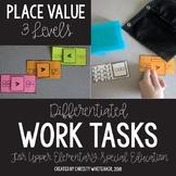 Upper Elementary Work Tasks: Place Value