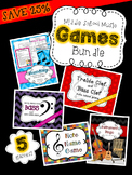 Games Bundle for Upper Elementary and Middle School Music