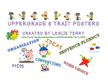 Upper Grade 6 Traits Posters