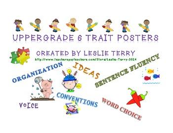 Upper Grade 6 Traits Posters