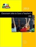 Upper Grade Classroom Jobs Kit