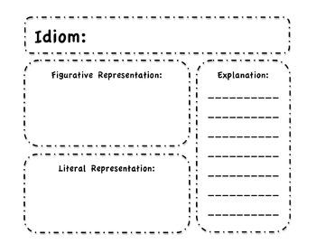 Upper Grade Idioms Booklet