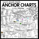 Upper Grade MATH Anchor Charts