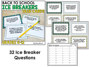 Back to School Math Activities and Resource Bundle