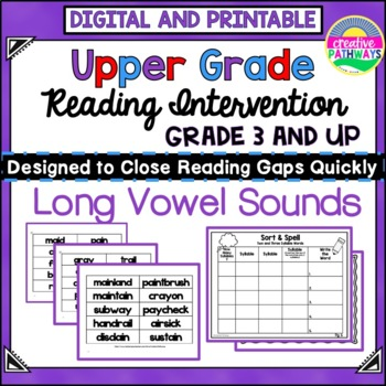 Reading Intervention Program: Long Vowel Sounds-General and Special Education