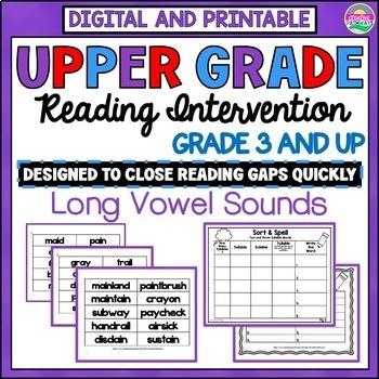 Reading Intervention Program: Long Vowel Sounds-General an