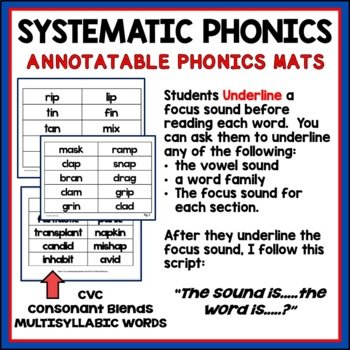 Reading Intervention for Upper Grades Freebie- A Phonics Intervention