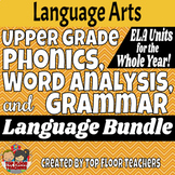 Upper Grade Phonics, Vocabulary, and Grammar Bundle