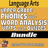 Upper Grade Phonics and Vocabulary Bundle
