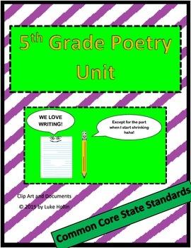 Upper Grade Poetry Unit