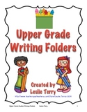 Upper Grade Student Writing Folders