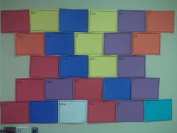 Upper Grade Write on Word Wall