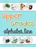 Upper Grades Cursive Alphabet Line Circles