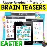 Upper Grades Easter Brain Teasers