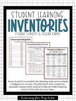 Upper Grades Learning Inventory Surveys