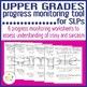 Upper Grades Progress Monitoring Tool for SLPs - IRONY AND SARCASM