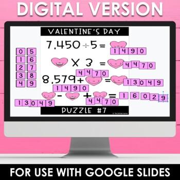 Upper Grades Valentine's Day Brain Teasers