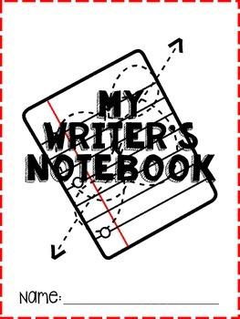 Upper Grades Writing Notebook Pack
